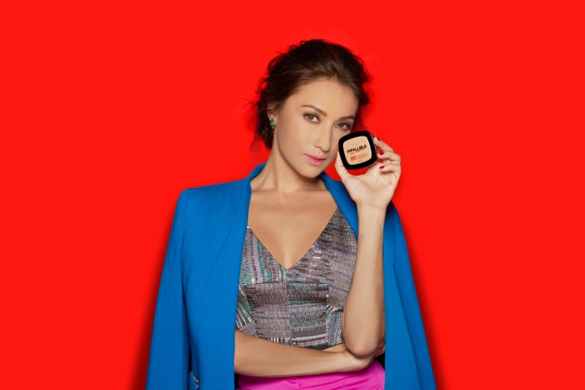 Solenn Heusaff for L'Oréal MakeUp Designer